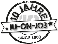 Logo 10 Jahre Ju-on-Job